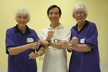tai chi voor rugpijn workshop in Florida USA 2004