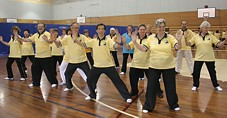 Tai Chi for arthritis verksted i Sydney 2007